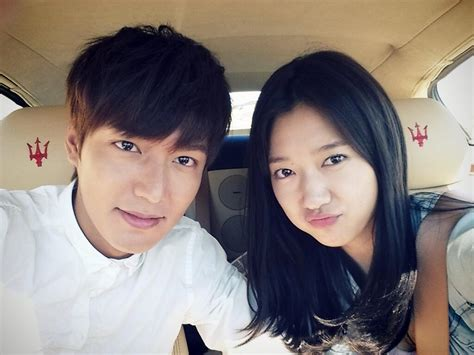 throbactor lee min ho and actress park shin hye are starred in a new the gallery for gt lee min hoo and park shin hye the heirs