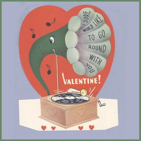 recordable valentines day cards 1000 images about vintage s day cards on