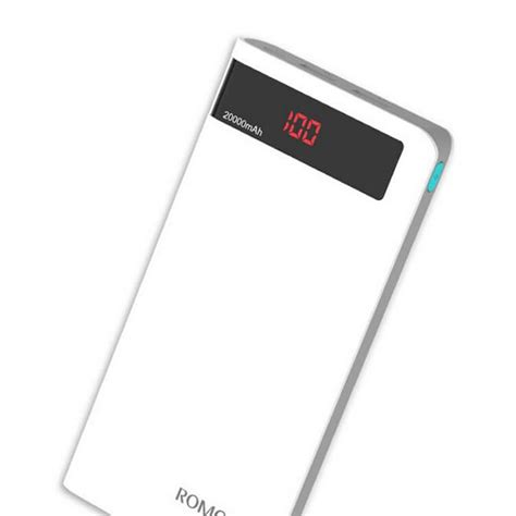 Romoss Sense 6p Power Bank 20000mah Dengan Lcd Display 5v 21a romoss sense 6p 20000mah power bank for smart phones ye chez best e store of pakistan
