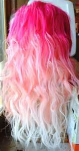 pretty colors to dye hair dip dye dye image 725687 on favim