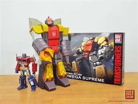 omega supreme mini papercraft