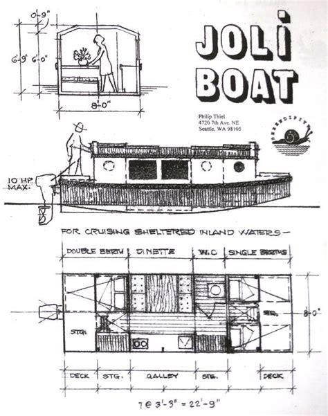 escargot boat plans joli boat let s go crazy and build a boat pinterest