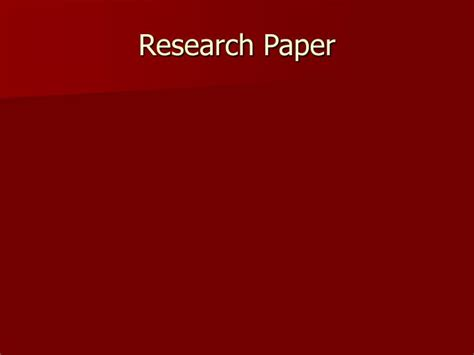 powerpoint presentation of a research paper ppt research paper powerpoint presentation id 1710154