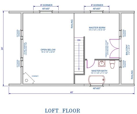 loft floor plans sd complete 24x32 garage plans with loft