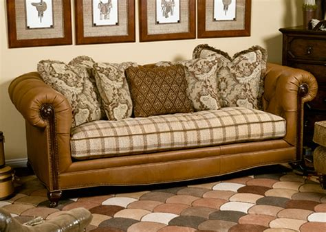 how to reupholster a chesterfield sofa leather sofa fabric cushions leather couch with fabric