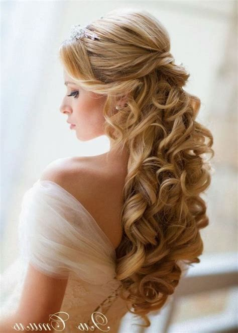 how to wedding partial updos for medium hair with bangs half updos for long hair wedding design ideas june
