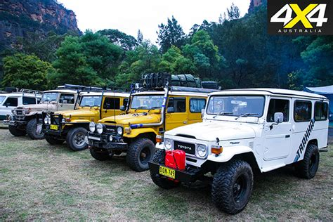 Toyota Carriers Troopcarriers Of Australia Event Nsw