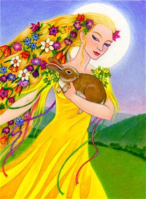 goddess easter who is the quot eastre quot rabbit elephant journal