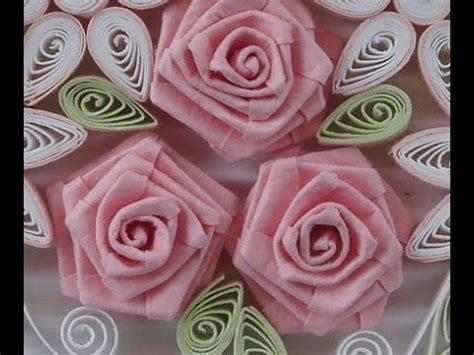 youtube tutorial quilling how to fold rose paper quilling youtube quilling