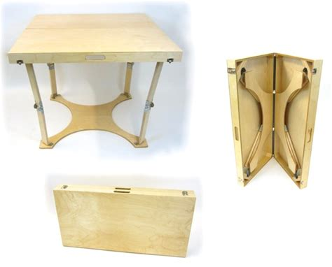 crafted folding puzzle table spiderlegs