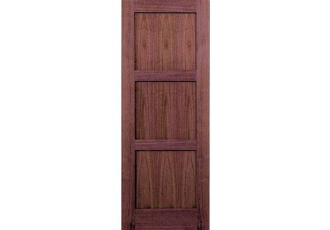 3 Panel Shaker Doors Interior by Wv6003p 80 Walnut 3 Panel Shaker Interior Door 1 3 8