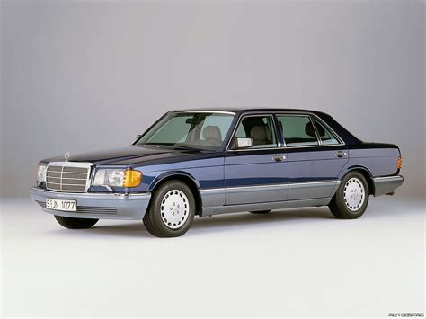 mercedes classic mercedes benz s class w126 photos photogallery with 53