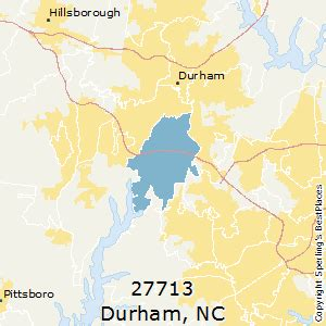zip code map durham nc best places to live in durham zip 27713 north carolina