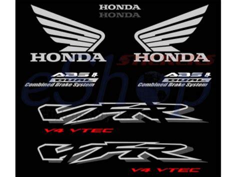 Honda Vfr 800 Vtec Aufkleber by Vfr 800 Interceptor Vtec 2002 2003 Set 3 Eshop Stickers