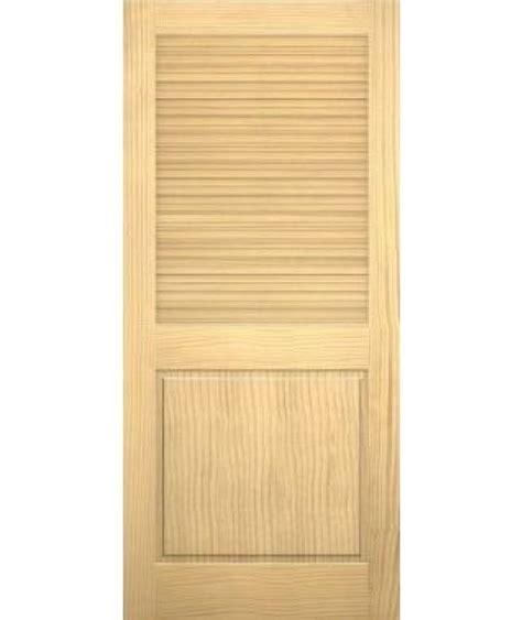 Half Louvered Interior Doors Description