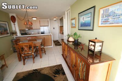 1 bedroom apartments for rent in oahu waikiki furnished 1 bedroom apartment for rent 3700 per