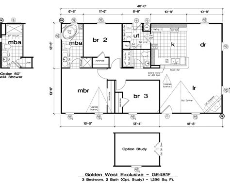 golden west homes floor plans golden west exclusive floorplans 5starhomes manufactured homes