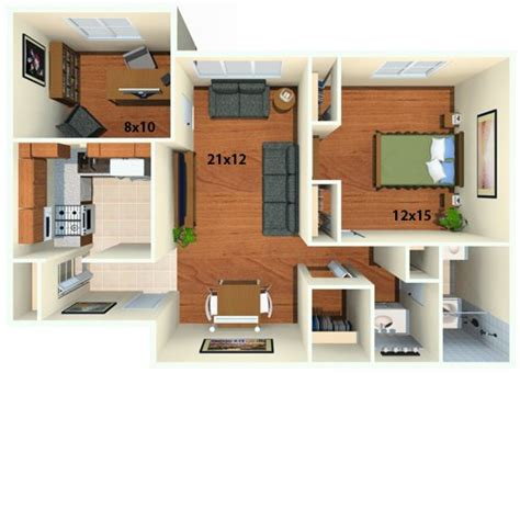 one bedroom apartments with den one bedroom apartment with den playmaxlgc com