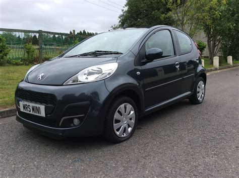 peugeot grey 2013 peugeot 107 1 0 12v active 5dr in grey stunning