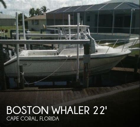 Auto Upholstery Cape Coral Fl by Boston Whaler Walkaround Boats For Sale