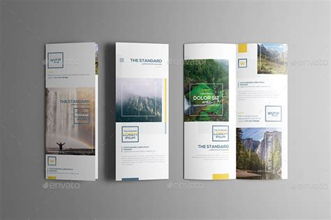 fold out brochure template take out brochure dl bi fold mockups by wutip graphicriver
