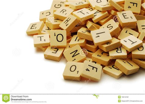 qwerty scrabble scrabble stock image image 10514181