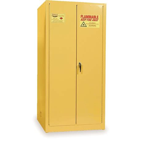 Chemical Storage Cabinets Chemical Storage Cabinets One Drum Vertical Yellow