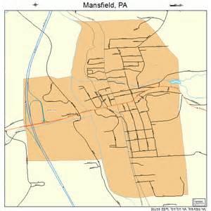 mansfield pennsylvania map 4247080
