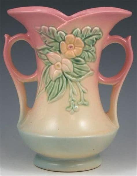 Hull Vases Value hull pottery wildflower vase pink blue 8 inch