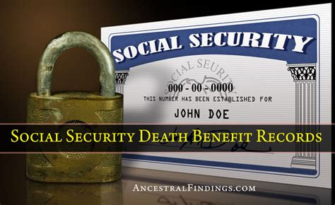 Social Security Records Social Security Benefit Records Ancestralfindings