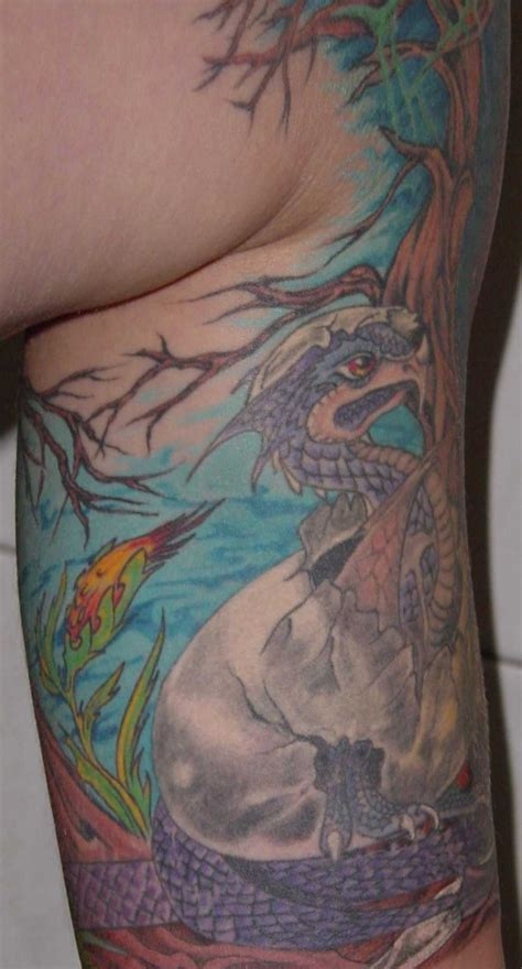 tattoo dragon egg dragon and egg tattoo