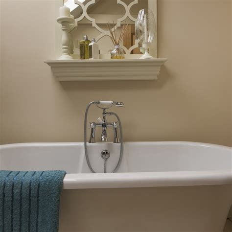 roll top bath bathroom ideas cream bathroom with roll top bath housetohome co uk