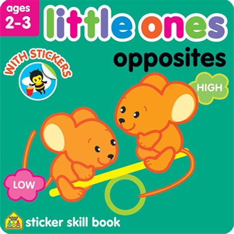 My Opposites Sticker And Activity Book ones opposites toddler sticker activity book educational toys planet