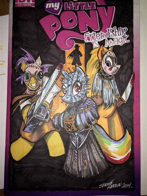 my horror my pony horror icons sketch cover by