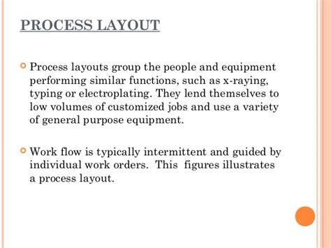 Product Layout Usually Has General Purpose Equipments | facility layout material handling