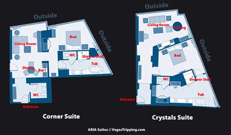aria corner suite floor plan the rooms at aria las vegas vegastripping com