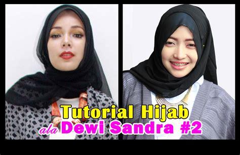 tutorial hijab ala oki asokawati tutorial hijab pashmina ala dewi sandra