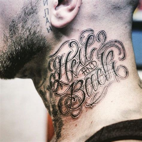 tattoo fonts neck 25 best ideas about lettering styles on