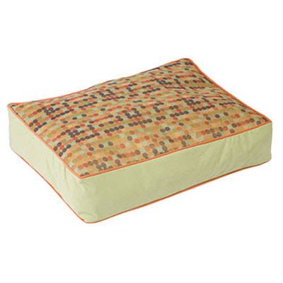 crypton dog bed crypton dottie dot rectangle dog bed