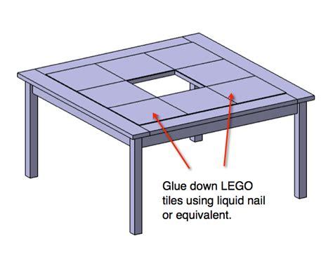 lego table plans free diy lego table plans