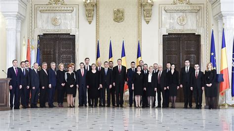 Government Members Romania S President Warns New Cabinet You To Fulfill