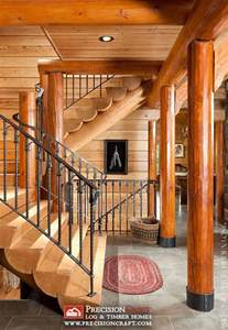 Log Home Stairs by Log Home Stairs Log Cabin Pinterest