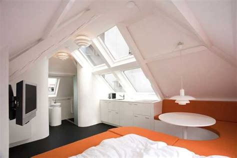 Attic Apartment Ideas | decorating small apartments tiny top floor mansion