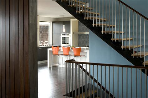 modern banister spiral stairs the only way i like steps heart and home
