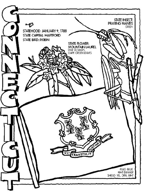 crayola coloring pages maps connecticut coloring page crayola com