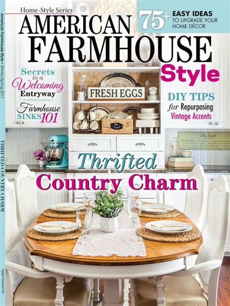farmhouse decor magazines bespoke wooden totes american farmhouse style knick of time