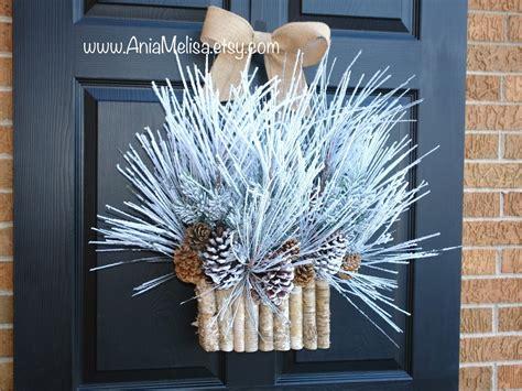 Winter Front Door Wreaths 18 Chilly Handmade Winter Wreath Designs For Your Front Door