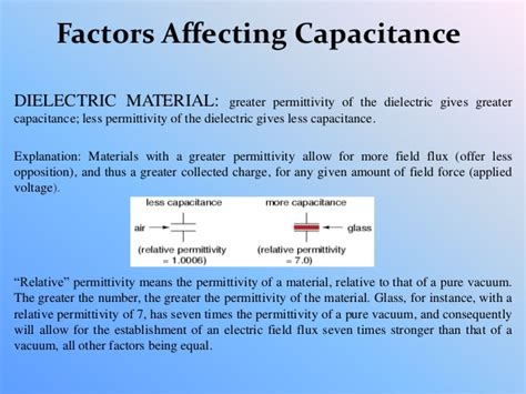 flux density capacitor definition capacitor