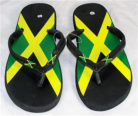 jamaican slippers wholesale jamaican flag flip flops jamaican sandals