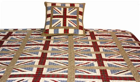 Union Patchwork Quilt - throws